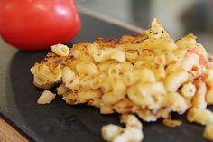 Fried Italian Herb Macaroni by MamaMommyMom Fried Macaroni, Macaroni Cheese, Pasta Recipes, Appetizer Recipes, Cheese Recipes, Appetizers, Pasta Plus, Perfect Food, Southern Recipes