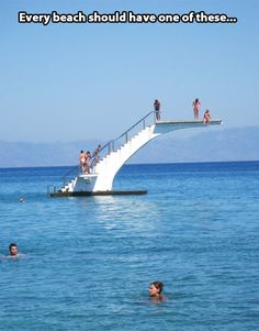 Every beach should have this…
