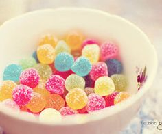 Cute food *o* Colorful Candy, Candy Colors, Colorful Food, Candyland, What's My Favorite Color, My Favorite Things, Cute Food, Yummy Food, Yummy Yummy