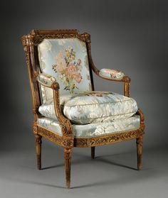 Armchair (Fauteuil) | Cleveland Museum of Art - c. 1785 Nicolas-Denis Delaisement (French)