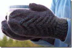 Cruiser mittens...free pattern