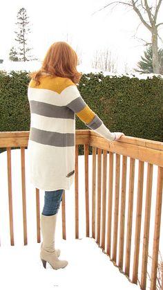 BlueSand Cardigan pattern by La Maison Rililie. FO by chaann on ravelry. #knitting #pattern #knitindie