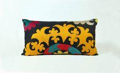 "$118.00 - Suzani accent pillow (12x22"")"