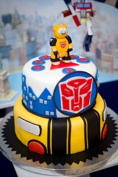 rescue bots cake ideas - Google Search
