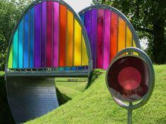 Rainbow Bridge at ART PARK Glasgow is a bold vision to define Bellahouston Park as a centrepiece venue, on a national basis, for the outdoor installation of art, design and architecture in the landscape.
