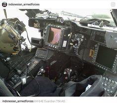 AH-64 Apache Guardian Main Control Room