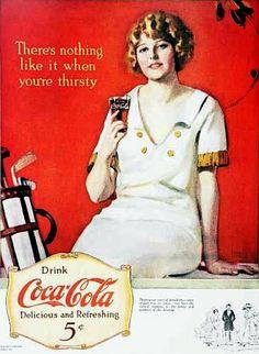 Vintage Coke/ Coca-Cola Advertisements of the