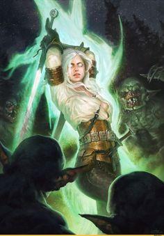 Цири-Witcher