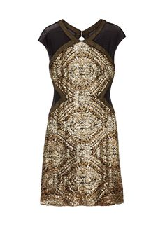 Rent Eyes of Gold Dress by Badgley Mischka for $35 only at Rent the Runway.