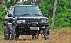 Range Rover P38 Wide Fender /wheel arches/wheel extension