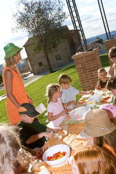 Kochen mit Kindern und Familien