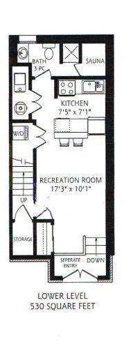 90A Shaftesbury Avenue - Floorplan