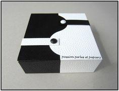 boîte zen noire et blanche 1