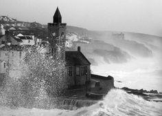 winter storm Cornwall