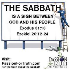 Sabbath: sign between God and his people