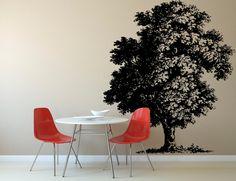 Wall Decal Sticker Bedroom Tree Branches krone Beautiful Decor Kitchen Decor 332b