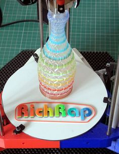 RichRap Releases 3D Printer Plans For The 3DR RepRap Delta Printer - http://3dprinterplans.info/richrap-releases-3d-printer-plans-for-the-3dr-reprap-delta-printer/