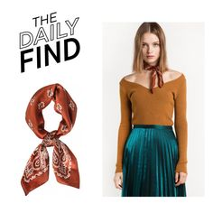 """""""The Daily Find: Pixie Market Scarf"""" by polyvore-editorial ❤ liked on Polyvore featuring DailyFind"""