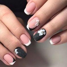 Gelllen Gel Nail Polish Set - 6 Colors With Top Coat Base Coat Dusty Classic Grays Series Home Gel Manicure Set - Cute Nails Club Creative Nail Designs, Creative Nails, Acrylic Nail Designs, Nail Art Designs, Acrylic Nails, Acrylic Art, Nails Design, Great Nails, Fabulous Nails