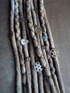 10pc Steampunk Industrial Custom Order Tie-Dye by PurpleFinchStore