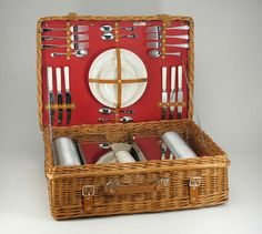 Abercrombie and Fitch picnic basket