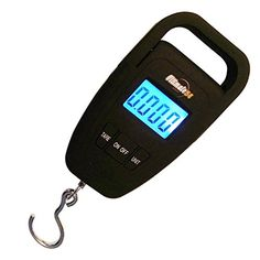 Ultimate54 Portable Digital Luggage and Fishing Scale Multifunction with Tare and Large LED Display & Backlight 110lb/50kg Capacity - Free Luggage Strap - Black Ultimate54 http://www.amazon.com/dp/B017PQFXU8/ref=cm_sw_r_pi_dp_e3UAwb1W44NPZ