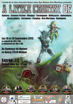 """Salon """"A little country of"""" à Matour les 19 et 20 septembre 2015."""