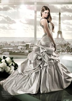 Alessandro Couture 2012 Color Wedding Dresses | Wedding Inspirasi