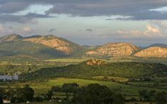 A world heritage site, the Vredefort Dome is possibly the oldest and largest clearly visible asteroid impact on Earth!