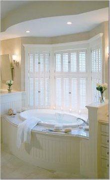 65 Best Ideas For Bathroom Big Window Soaker Tub Big Bathtub, Big Tub, Bathtub Ideas, Bathtub Caddy, Jetted Bathtub, Standing Bathtub, Jacuzzi Tub, Bathroom Windows, Bathroom Layout
