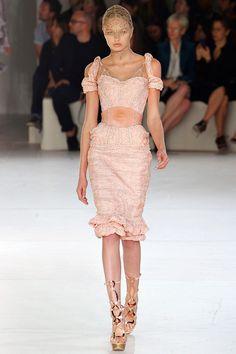 alexander mcqueen spring 2012 rtw... finally a brand that understands the female figure!