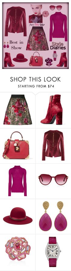 """Best in show"" by zabead ❤ liked on Polyvore featuring Dolce&Gabbana, Yves Saint Laurent, Altuzarra, Theory, Steven Alan, Betmar, Wendy Yue and Cartier"