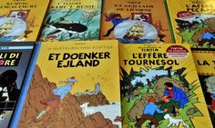 Books published by Casterman: lawyers said Hergé had signed over rights to the Belgian publisher.