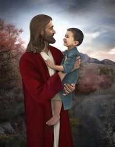 Paintings our Savior Jesus Christ, and other Inspirational Artwork by Brent Borup Jesus Christ Lds, Jesus Is Risen, Pictures Of Jesus Christ, God Jesus, Lds Art, Bible Art, Jesus Laughing, Jesus Smiling, Church Pictures