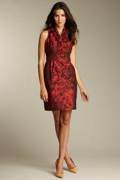 HauteLook Taylor  Ruffle Trimmed Dress