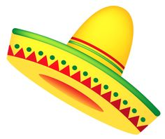 colorful mexican sombrero hat free clip art templates 2 rh pinterest com sombrero clip art black and white sombrero clip art free
