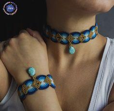 Новости Macrame Necklace, Macrame Jewelry, Macrame Bracelets, Fall Jewelry, Jewelry Crafts, Handmade Jewelry, Earring Tutorial, Bracelet Tutorial, Macrame Dress