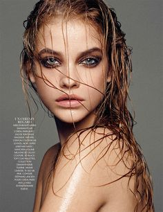 visual optimism; fashion editorials, shows, campaigns & more!: barbara palvin by nico for madame figaro 31st october 2014
