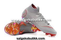 outlet store 05634 da50b Nike Mercurial Superfly VI 360 Elite FG Fotballsko Grå Rød Store visit  us https