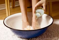 I've been doing Epsom salt foot soak every night and have seen many benefits. The foot soak reduces inflammation, stress and anxiety. It also improves sleep