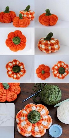 20 Shining Crochet Ideas With Free Patterns - Diy And Crafts Crochet Pour Halloween, Halloween Crochet Patterns, Crochet Fall, Crochet Home, Cute Crochet, Small Crochet Gifts, Crotchet, Crochet Gratis, Crochet Amigurumi