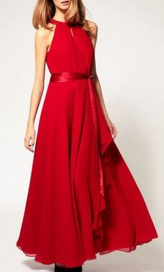 Nice Party Dresses Love Red for the Holidays! Gorgeous Red Halterneck Sleeveless Chiffon Maxi Party... Check more at https://24myshop.ga/fashion/party-dresses-love-red-for-the-holidays-gorgeous-red-halterneck-sleeveless-chiffon-maxi-party/