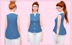 Sims 4 CC's - The Best: Clothing by Simlife