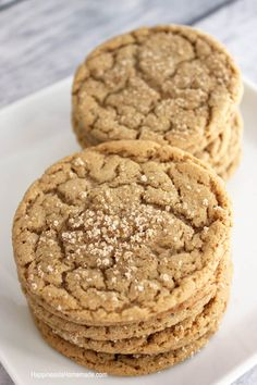Brown Butter and Maple Brown Sugar Cookies