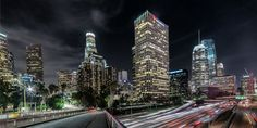 Downtown Los Angeles Nights by Tim Ngo on 500px