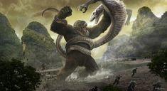 Kong: Skull Island Concept Art By Karl Lindberg