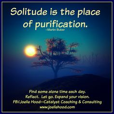 #solitude #alonetime Become the best possible version of yourself. FB/Joelle Hood--Catalyst Coaching & Consulting  www.joellehood.com #inspirationalquotes