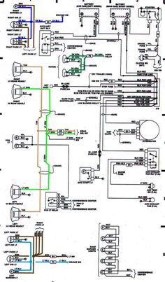 85 chevy truck wiring diagram chevrolet c20 4x2 had battery and gmc truck fuse diagrams diagram jpg (800�1368)