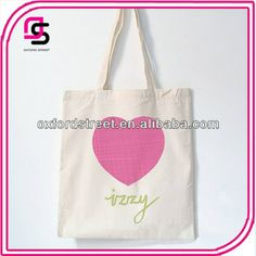 LOVE Printed shopping bag,Canvas tote bags wholesale