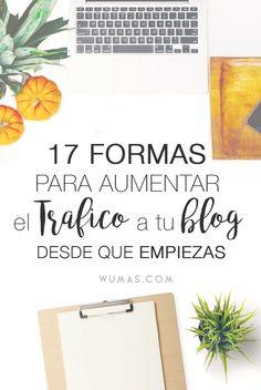 17 Formas para Aumentar el Tr�fico a tu Blog desde que Empiezas